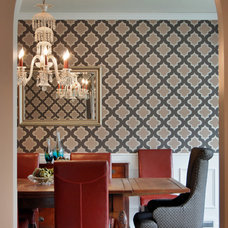 Traditional Dining Room by Jason Ball Interiors, LLC