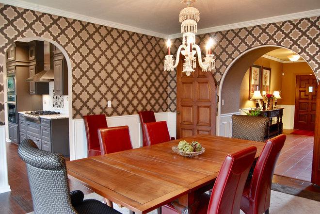 Traditional Dining Room by Jason Ball Interiors, LLC