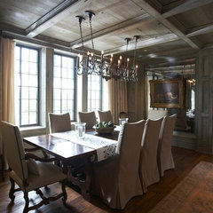 traditional dining room by Dungan Nequette Architects