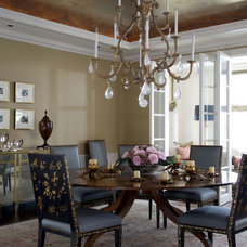 Traditional Dining Room by Jessica Lagrange Interiors