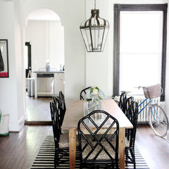 traditional dining room by Haddon Interiors