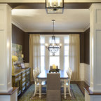 Casual By The Lake Rustic Dining Room Other By