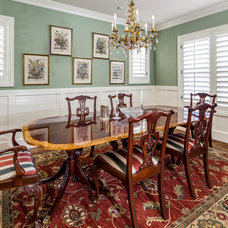 Traditional Dining Room by Larsen Development Company