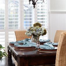 Traditional Dining Room by Lauren Leonard Interiors