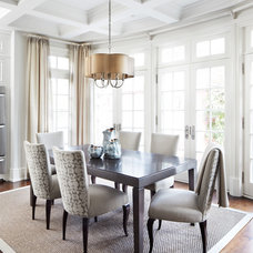 traditional dining room by Lisa Petrole Photography