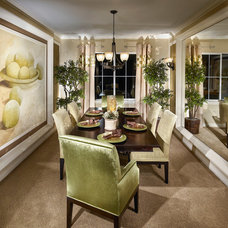 Traditional Dining Room by Lita Dirks & Co.