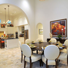 traditional dining room by London Bay Homes
