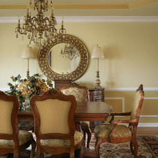Traditional Dining Room by Marina Klima Goldberg - Klima Design Group