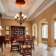 Traditional Dining Room by Martin Bros. Contracting, Inc.