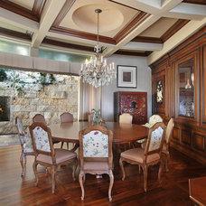 Traditional Dining Room by Megan Williams Interior Design