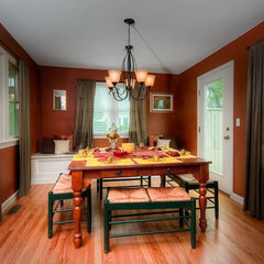 traditional dining room by Mitchell Construction Group