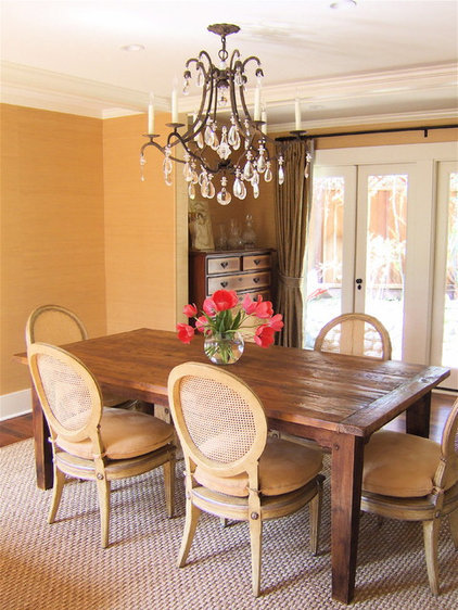 traditional dining room by Modern Organic Interiors