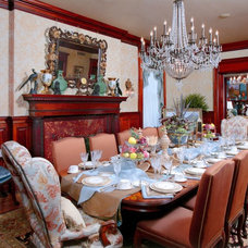 Traditional Dining Room by Pat Manning-Hanson, ASID