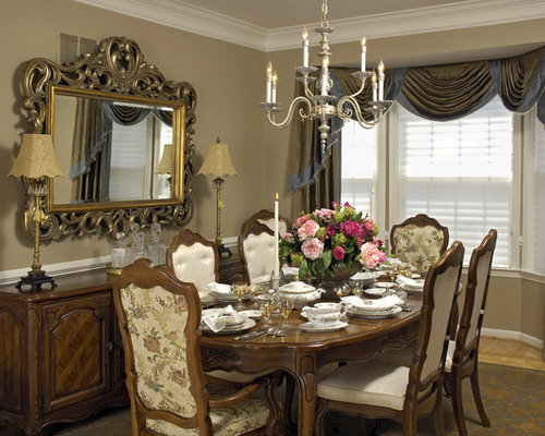 Dining Room Curtains Ideas, Pictures, Remodel and Decor
