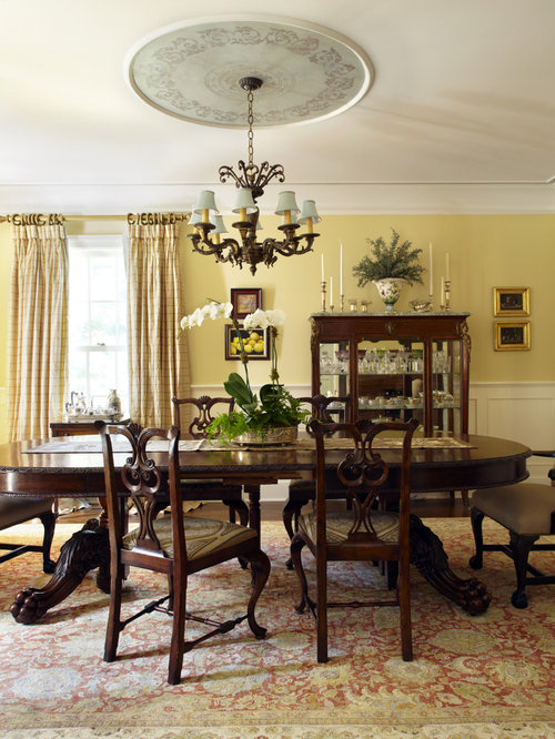 Houzz Yellow Dining Room Design Ideas Amp Remodel Pictures
