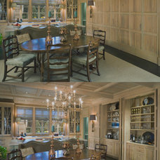 Traditional Dining Room by Pursley Dixon Architecture