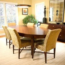 Traditional Dining Room by Rachel Belden Interior Design LLC