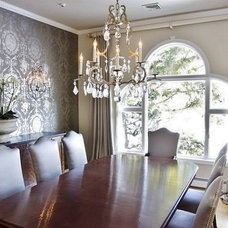 traditional dining room by Rachel Hazelton Interior Design
