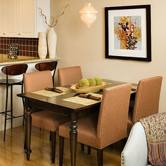 traditional dining room by Rachel Reider Interiors