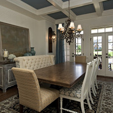Traditional Dining Room by Driggs Designs