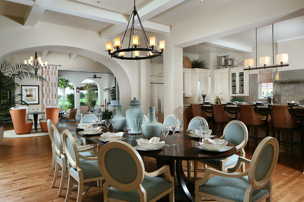Traditional Dining Room by Romanza Interior Design