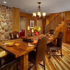 Traditional Dining Room by Roughing It In Style