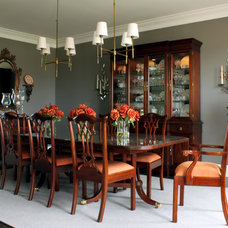 Traditional Dining Room by Sean Michael Design