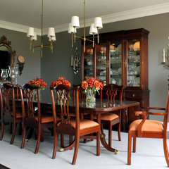 contemporary dining room by Sean Michael Design