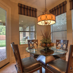 traditional dining room by Silvan Homes