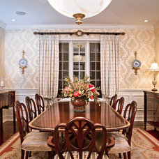 Traditional Dining Room by Jason Joseph Photography