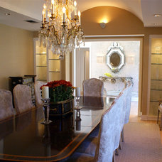 Traditional Dining Room by SLIC Interiors