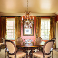 Traditional Dining Room by Todd Richesin Interiors
