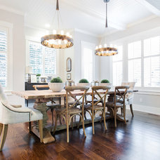 Transitional Dining Room by Tracy Herbert Interiors, LLC