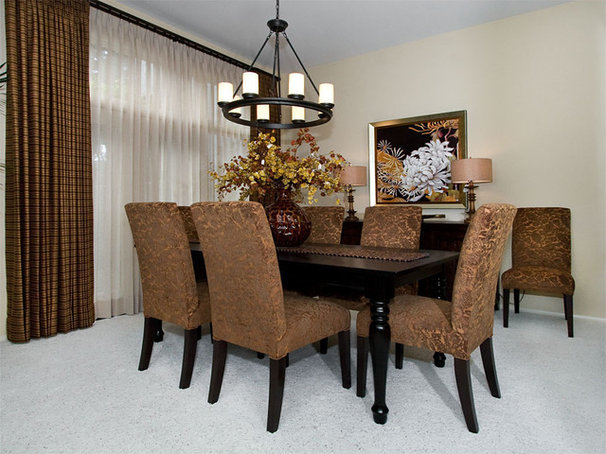 Traditional Dining Room by Style On a Shoestring
