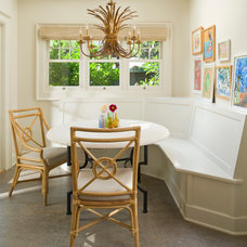 Traditional Dining Room by Maison Inc.