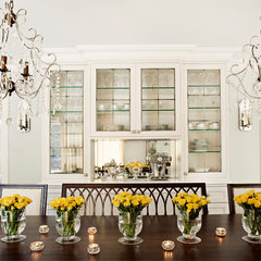 traditional dining room by Elizabeth Metcalfe Interiors & Design Inc.