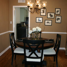 Traditional Dining Room by Lisa LaPorta HGTV