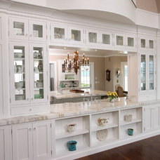 Traditional Dining Room by Studio Swann | Custom Kitchens & Baths