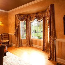 Traditional Dining Room by Window Works
