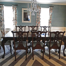 Traditional Dining Room by Richmond Hill Interiors, llc