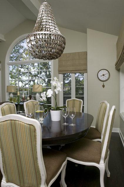 Traditional Dining Room by Zuniga Interiors