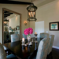 Traditional Dining Room by Zuniga Interiors