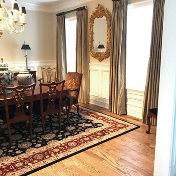 Traditional Earth Tone Dining Room
