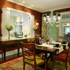Traditional Dining Room by Amanda Webster Design