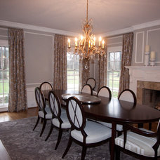 Traditional Dining Room by Dawn Cook Design