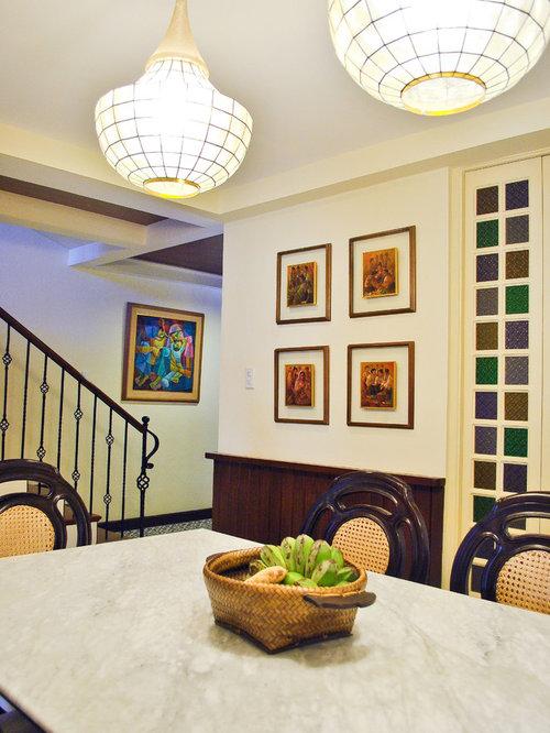 Elegant Dining Room Photo In Other Save MCK Interior Design Lab
