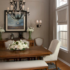Traditional Dining Room by Nest Design Inc.