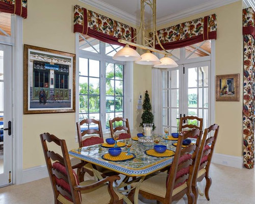 Servigon Construction Group Dining Room Design Ideas Renovations Photos With Porcelain Floors