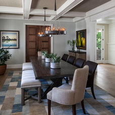 Traditional Dining Room by Tomaro Design Group