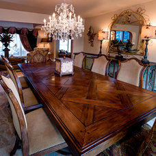 Eclectic Dining Room by CANDICE ADLER DESIGN LLC